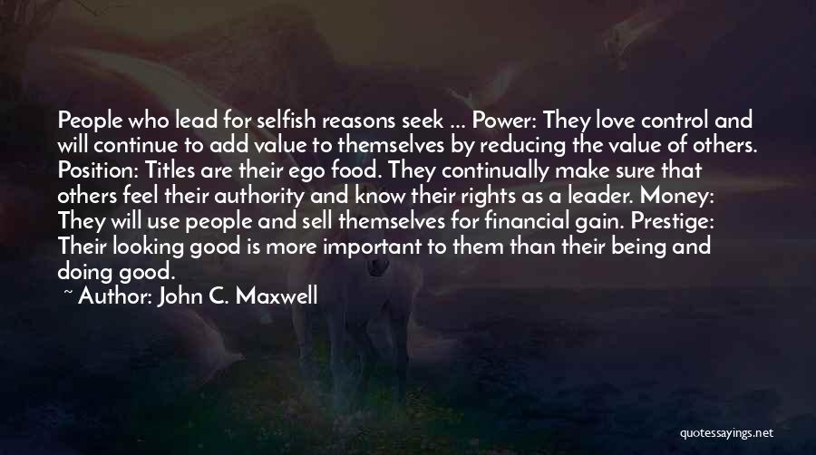 Doing More For Others Quotes By John C. Maxwell