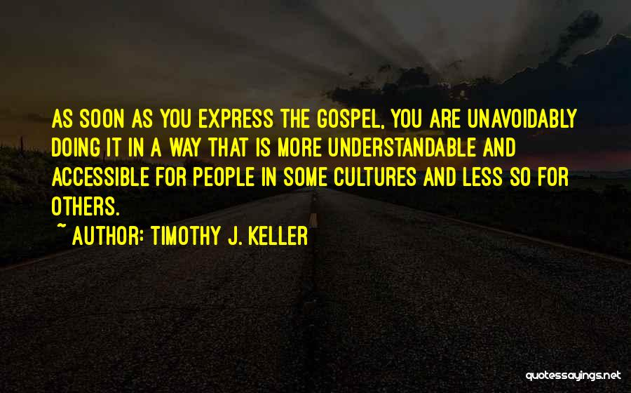 Doing More For Others Quotes By Timothy J. Keller
