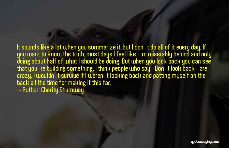 Doing Only What You Can Quotes By Charity Shumway