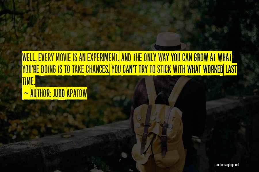 Doing Only What You Can Quotes By Judd Apatow