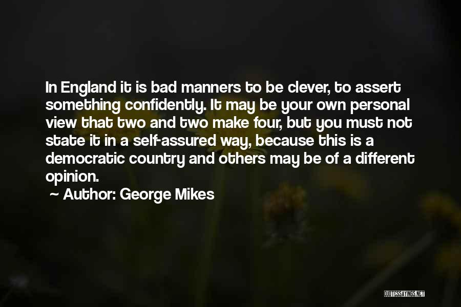 Doing Personal Best Quotes By George Mikes