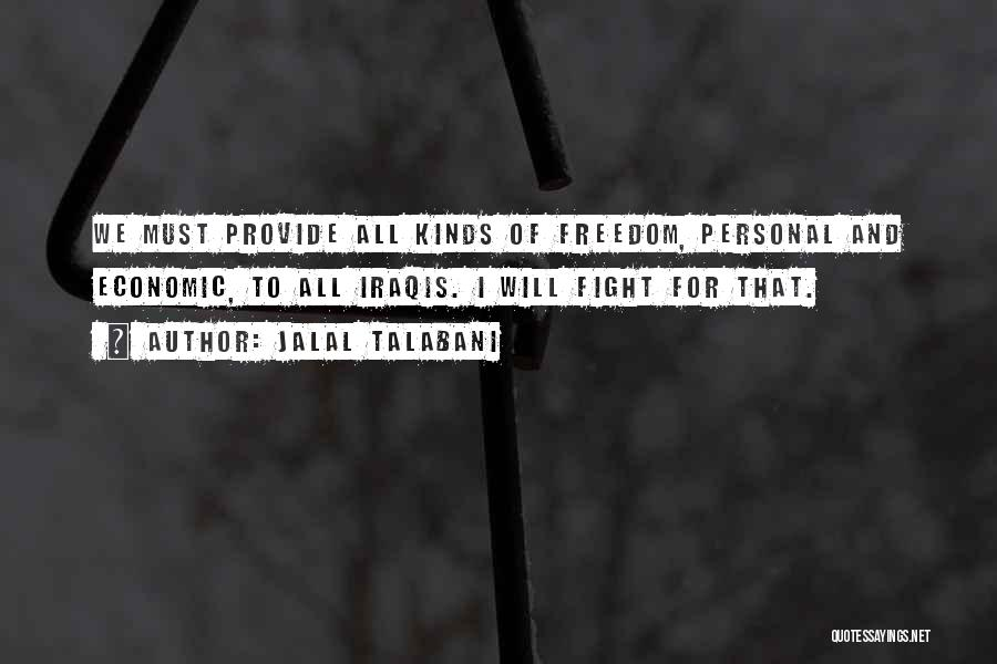 Doing Personal Best Quotes By Jalal Talabani