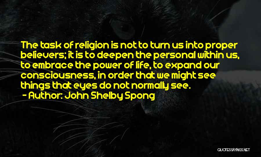 Doing Personal Best Quotes By John Shelby Spong