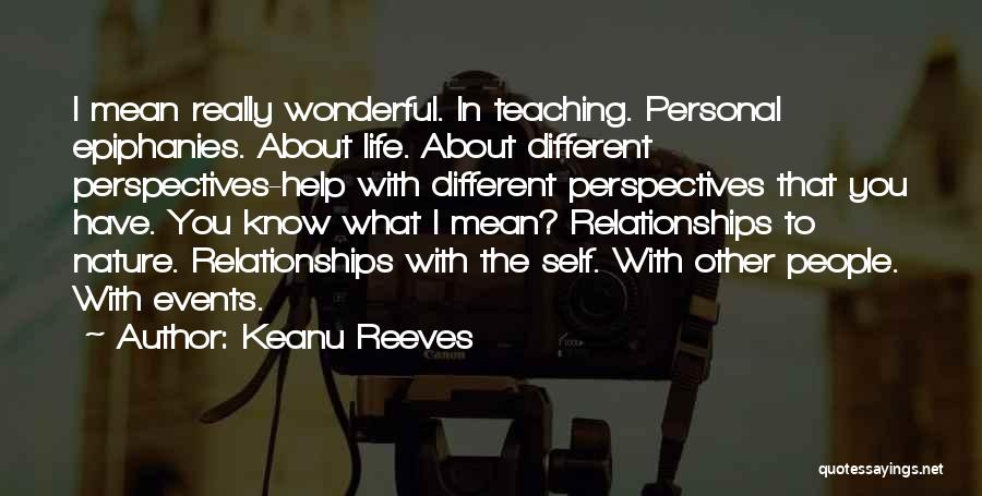 Doing Personal Best Quotes By Keanu Reeves