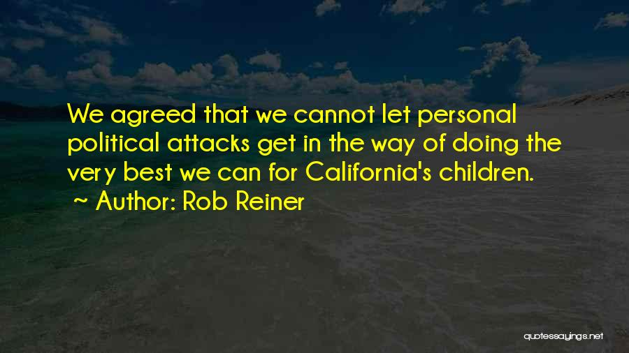 Doing Personal Best Quotes By Rob Reiner