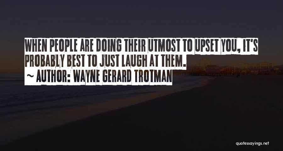 Doing Personal Best Quotes By Wayne Gerard Trotman