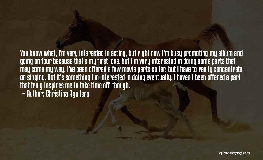 Doing Right First Time Quotes By Christina Aguilera