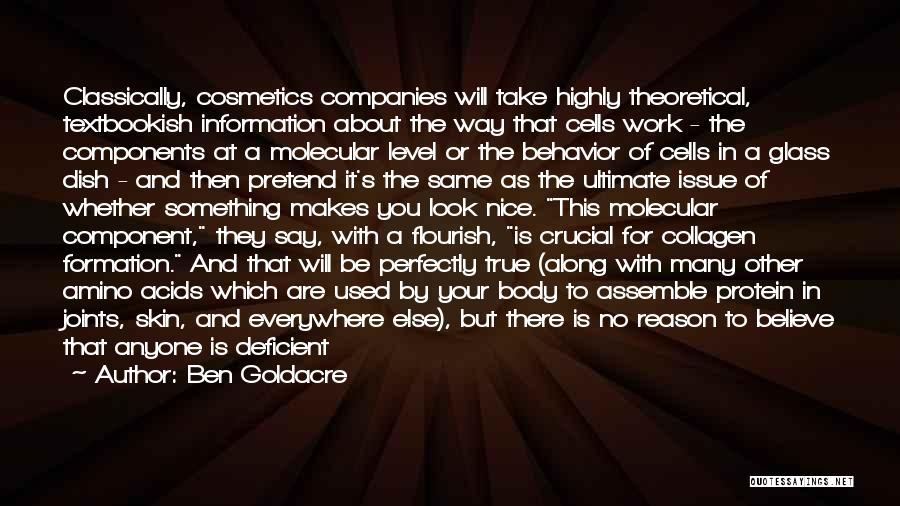 Doing Someone Else's Work Quotes By Ben Goldacre