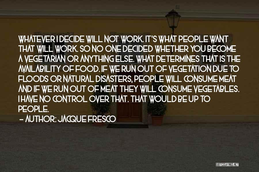 Doing Someone Else's Work Quotes By Jacque Fresco