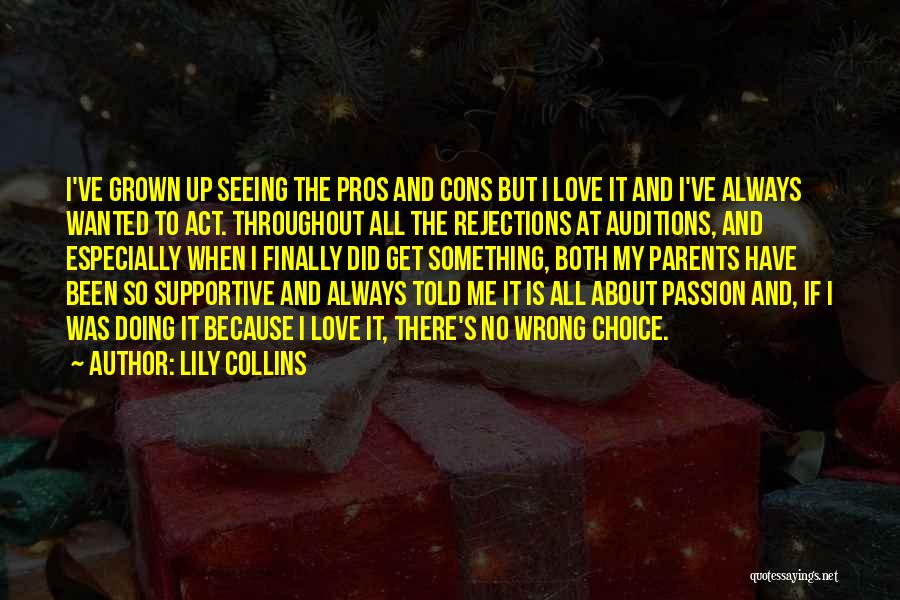Doing Something Wrong Quotes By Lily Collins