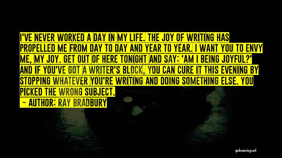Doing Something Wrong Quotes By Ray Bradbury