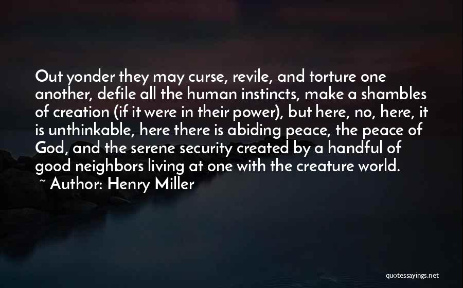 Doing The Unthinkable Quotes By Henry Miller