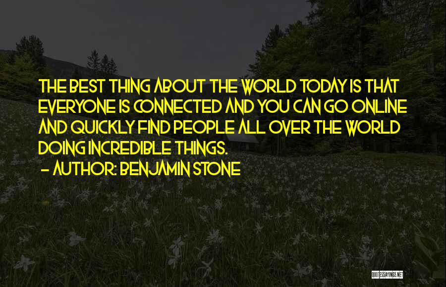 Doing Things Over And Over Quotes By Benjamin Stone