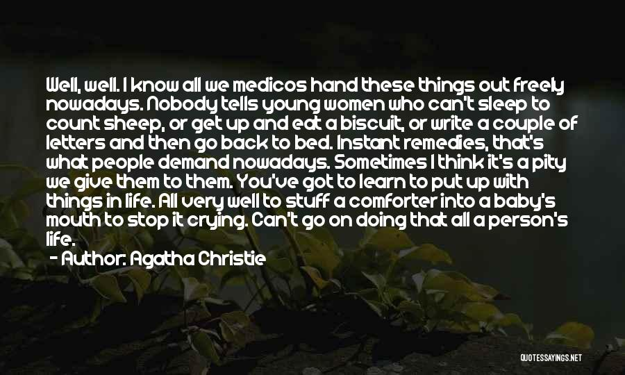Doing Well In Life Quotes By Agatha Christie