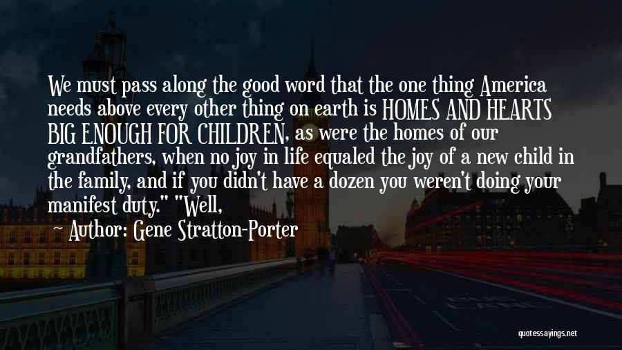 Doing Well In Life Quotes By Gene Stratton-Porter