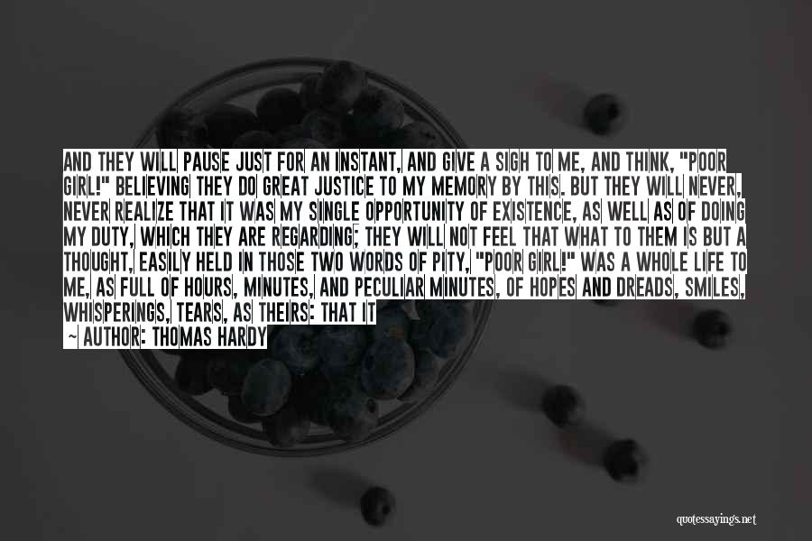 Doing Well In Life Quotes By Thomas Hardy