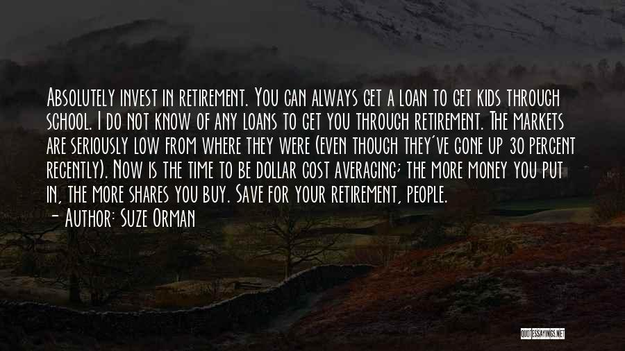 Dollar Cost Averaging Quotes By Suze Orman