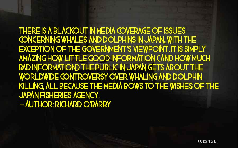 Dolphins And Whales Quotes By Richard O'Barry