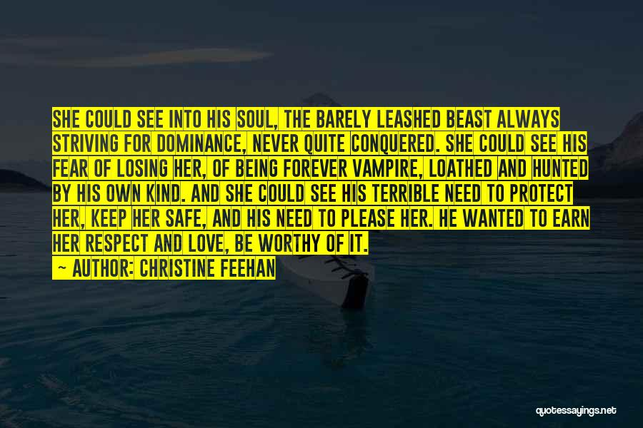 Dominance Love Quotes By Christine Feehan