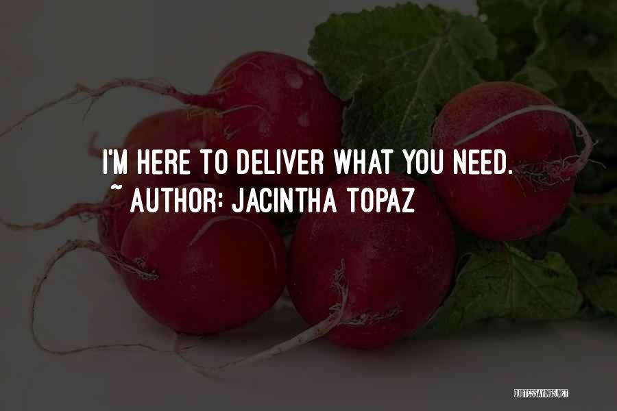 Dominant Submissive Quotes By Jacintha Topaz