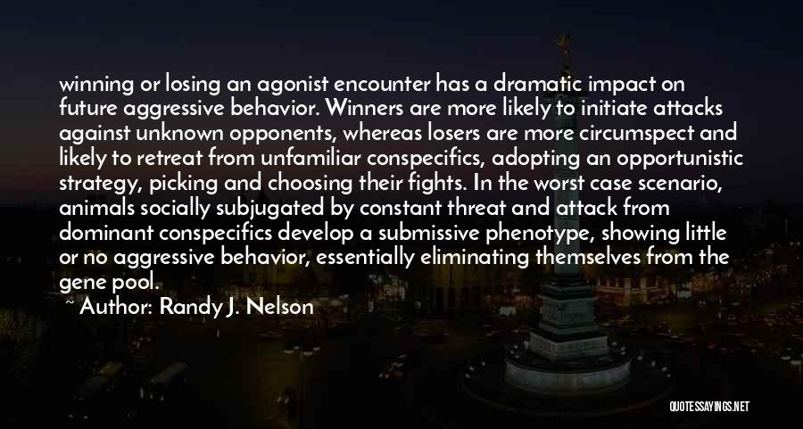 Dominant Submissive Quotes By Randy J. Nelson