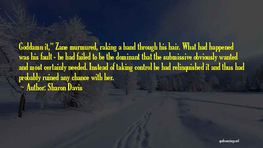 Dominant Submissive Quotes By Sharon Davis