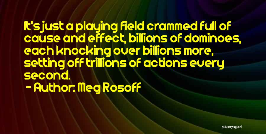 Dominoes Effect Quotes By Meg Rosoff