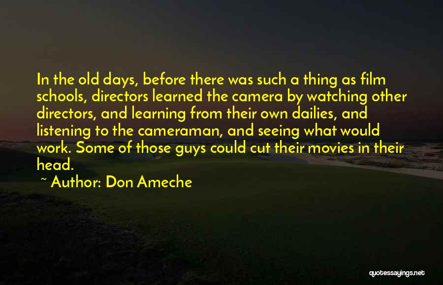 Don Ameche Quotes 1090237