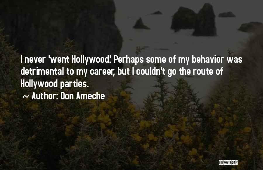 Don Ameche Quotes 1314930