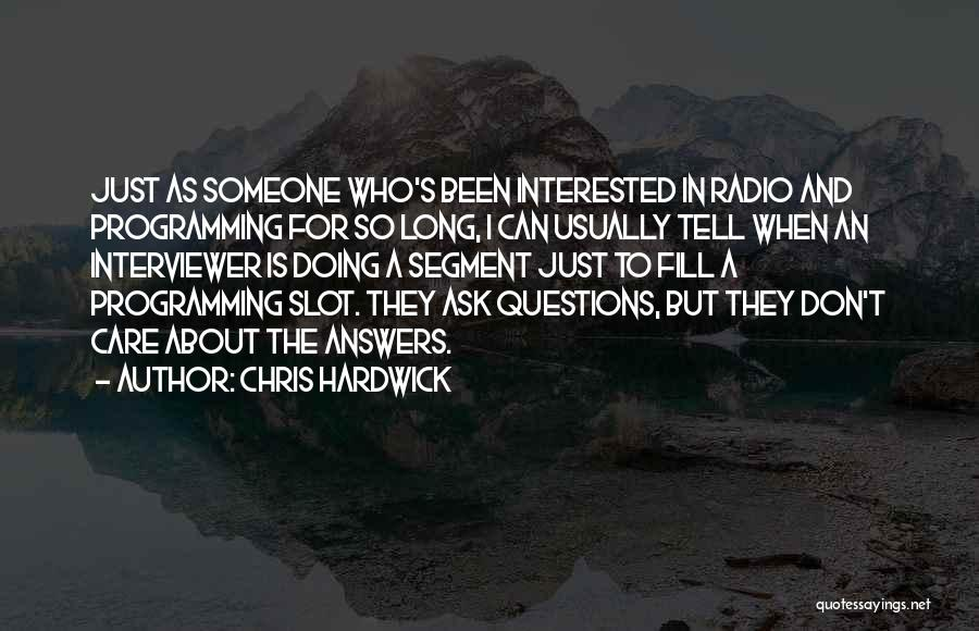 Don Ask Don Tell Quotes By Chris Hardwick