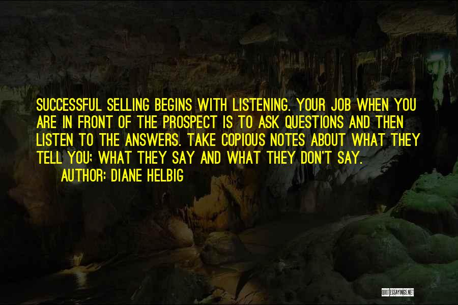 Don Ask Don Tell Quotes By Diane Helbig