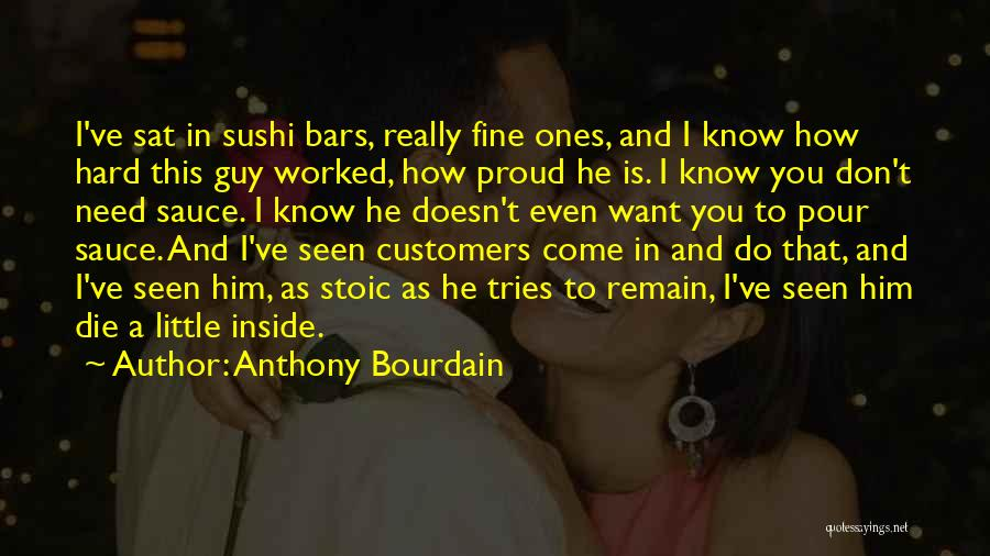 Don Die Quotes By Anthony Bourdain