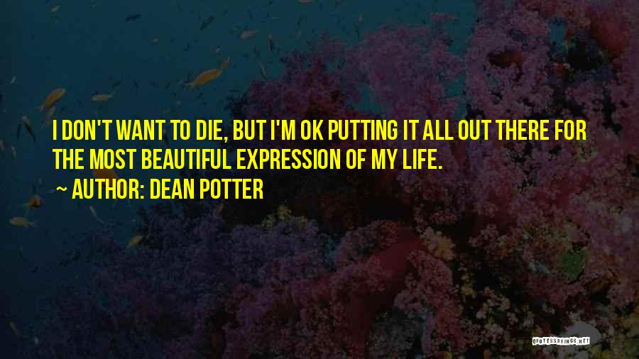 Don Die Quotes By Dean Potter
