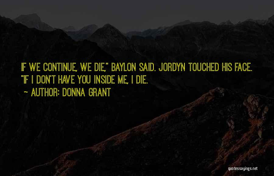 Don Die Quotes By Donna Grant