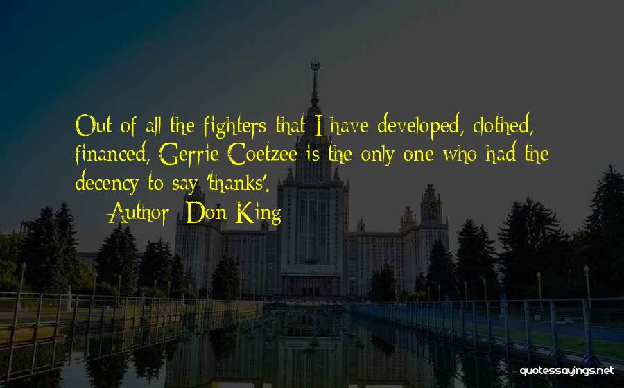 Don King Quotes 1754404
