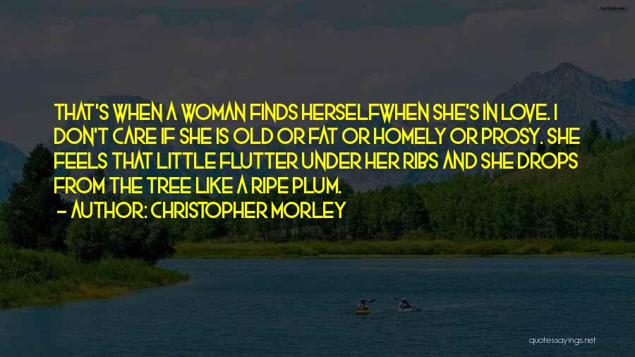 Don Plum Quotes By Christopher Morley