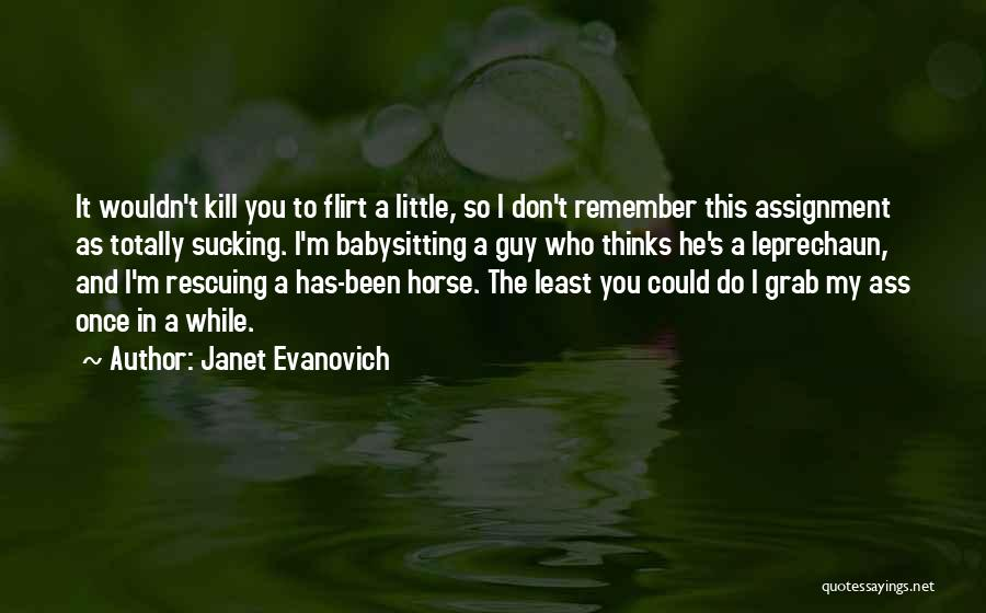 Don Plum Quotes By Janet Evanovich
