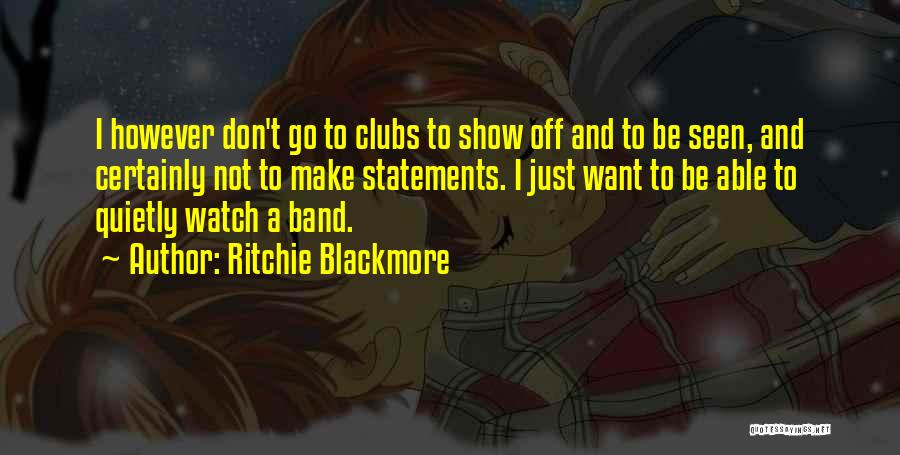 Don Ritchie Quotes By Ritchie Blackmore
