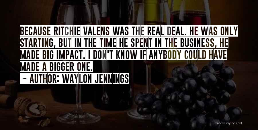 Don Ritchie Quotes By Waylon Jennings