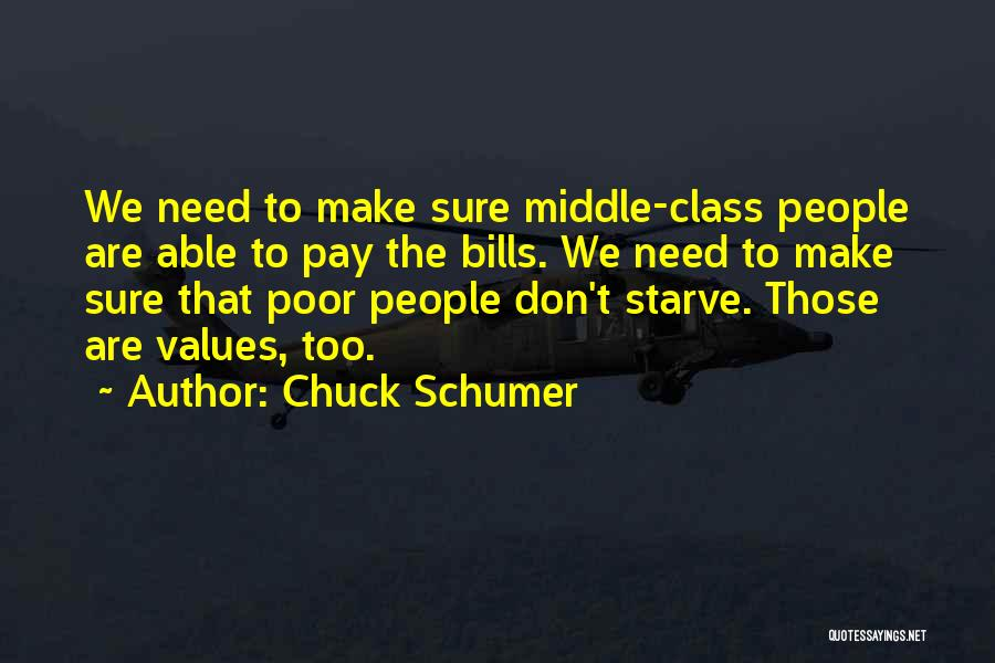 Don Starve Quotes By Chuck Schumer