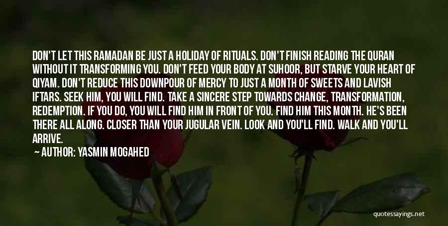 Don Starve Quotes By Yasmin Mogahed