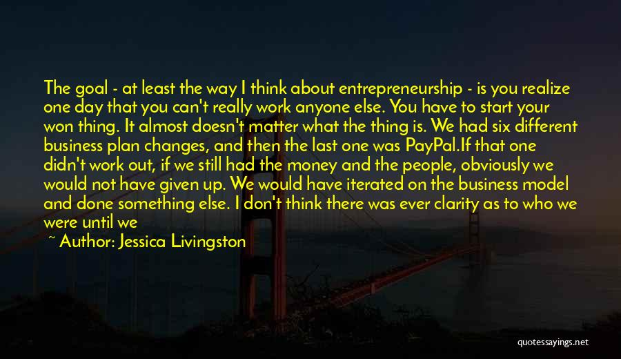 Don Think Just Do It Quotes By Jessica Livingston