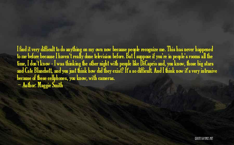 Don Think Just Do It Quotes By Maggie Smith