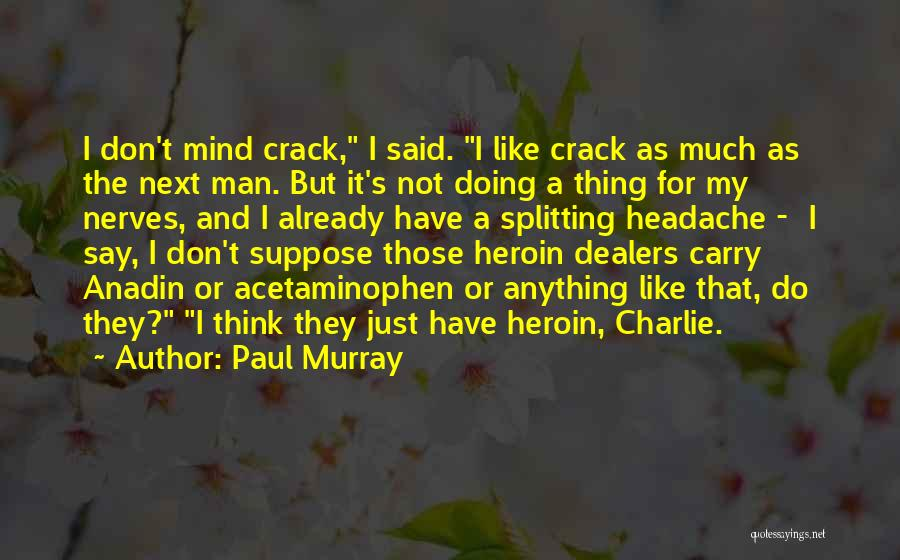 Don Think Just Do It Quotes By Paul Murray