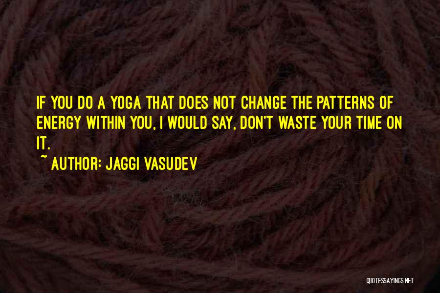 Don Waste Time Love Quotes By Jaggi Vasudev