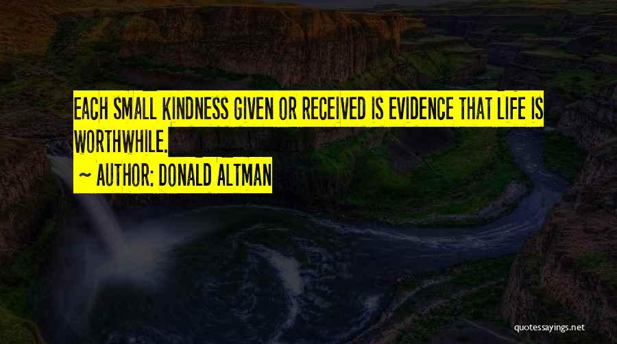 Donald Altman Quotes 79597