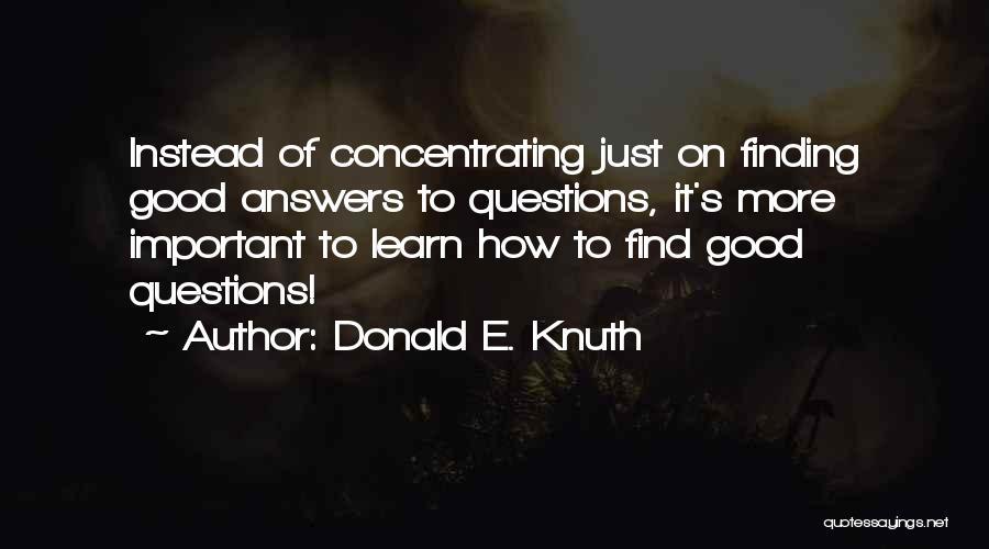 Donald E. Knuth Quotes 1599438