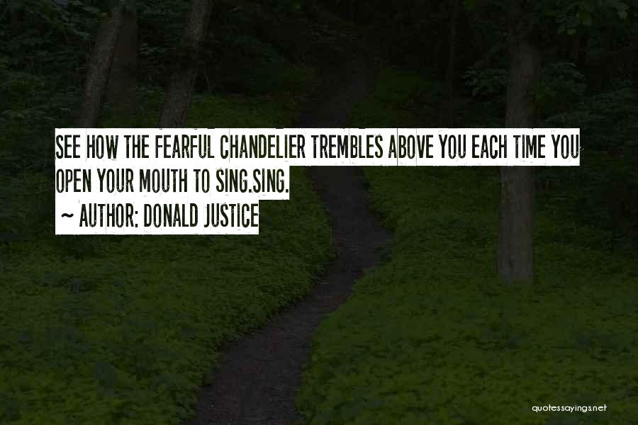 Donald Justice Quotes 160212