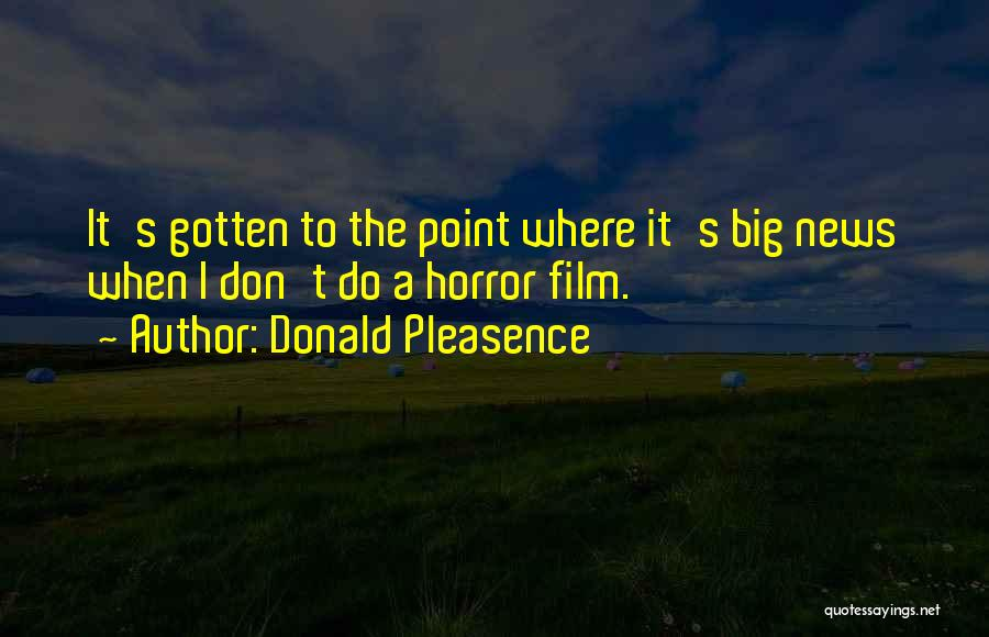 Donald Pleasence Quotes 1037693