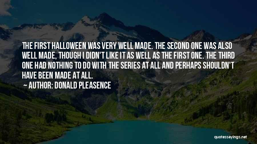 Donald Pleasence Quotes 1712312
